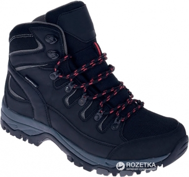 97394378 Ботинки Hi-Tec Baksan Mid Wp-Black/Red 43 (5901979044093)