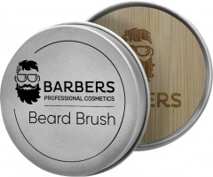 Щетка для бороды Barbers Round Beard Brush (4823099501359)