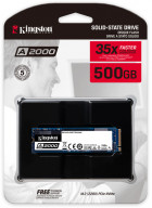 Kingston A2000 500GB NVMe M.2 2280 PCIe 3.0 x4 3D NAND TLC (SA2000M8/500G) - зображення 3