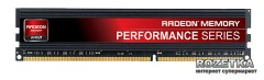 Оперативная память AMD DDR4-2133 4096MB PC4-17000 R7 Performance Series (R744G2133U1S)