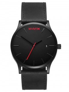 Часы MVMT L213.5L.551 Classic Black Leather 45mm 3ATM