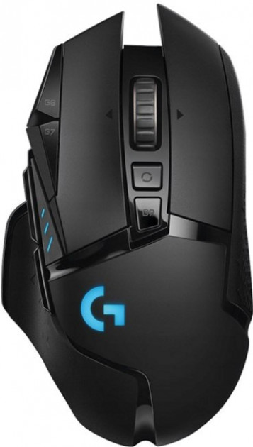 Миша Logitech G502 Lightspeed Wireless Black (910-005567) - зображення 1