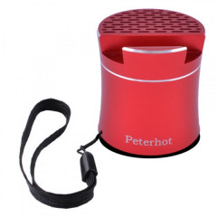 Bluetooth-колонка Peterhot PTH-307, speakerphone, Shaking КРАСНАЯ (TOP00488)