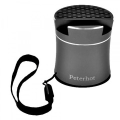 Bluetooth-колонка Peterhot PTH-307, speakerphone, Shaking ЧЁРНАЯ (TOP00488)