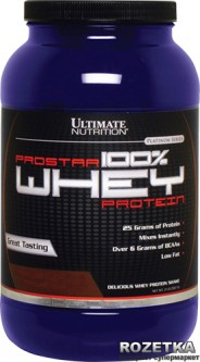 Протеин Ultimate Nutrition Prostar Whey Protein 907 г Raspberry (099071001382)