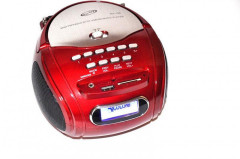 Бумбокс Golon колонка RX 186 MP3 USB радио Red