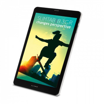 "Планшет Kiano SlimTab 8 3GR 8"" IPS Intel Atom X3- C3230 1/8Gb Black"