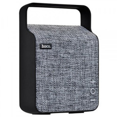 Портативная колонка Hoco BS6 NuoBu desktop Bluetooth speaker Gray PREMIUM