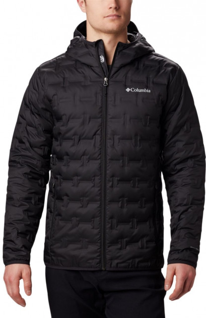 Пуховик Columbia Delta Ridge Down Hooded Jacket 1875892-010 L (0192290890932)