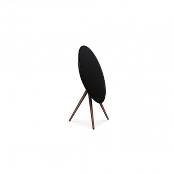 Bang & Olufsen Beoplay A9 Black, incl. front cover, walnut legs (2890-18)