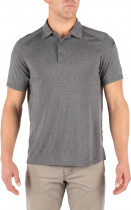 Поло тактическое 5.11 Tactical Рaramount Short Sleeve Polo 41221-035 2XL CHARCOAL HEATHER (2000980471669) - изображение 1