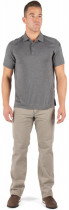 Поло тактическое 5.11 Tactical Рaramount Short Sleeve Polo 41221-035 2XL CHARCOAL HEATHER (2000980471669) - изображение 3