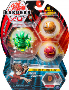 Игровой набор Spin Master Bakugan Battle planet Бакуган Вентус Кракелиус (SM64424-7) (778988550441)