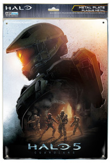 Металлическая картина ABYstyle HALO (28x38) (ABYPLA019)