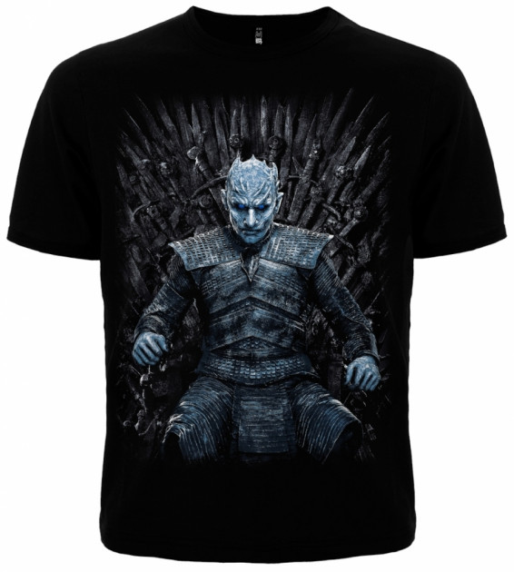 Футболка Rockway Game of Thrones Игра Престолов (Night King) Черный (00000004717) XXXL (XXL Euro)