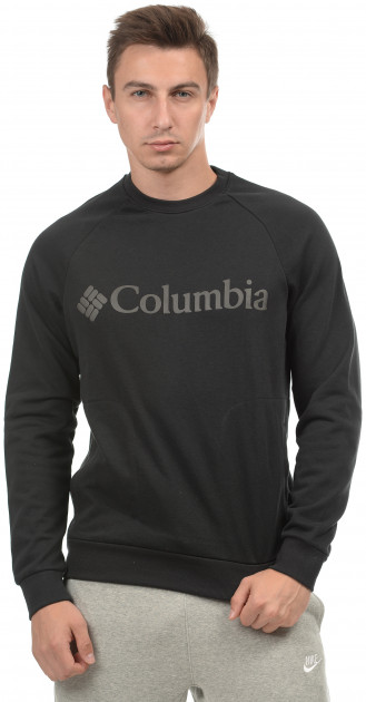 Свитшот Columbia Bugasweat Crew 1840594-010 S Black (0192290278471)