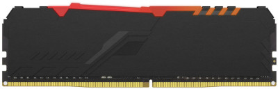 Оперативна пам'ять HyperX DDR4-2400 8192MB PC4-19200 Fury RGB Black (HX424C15FB3A/8)