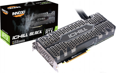 INNO3D PCI-Ex GeForce RTX 2070 Super iChill Black 8GB GDDR6 (256bit) (1815/14000) (HDMI, 3 x DisplayPort) (C207SB-08D6X-11800004)