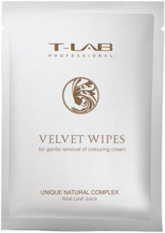 Салфетка T-LAB Professional Velvet Wipes (5060466661844)