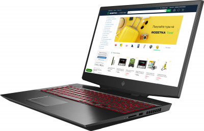 Ноутбук HP Omen 17-cb0019ur (7QA97EA) Shadow Black
