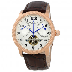Наручные часы Heritor Piccard Automatic Silver Dial Brown Leather Mens Watch HR2005 (HR2005) (HR2005)