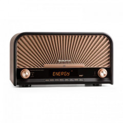 Стереосистема Auna Retro-Stereoanlage DAB+/UKW-Tuner Bluetooth CD-Player USB MP3 Германия