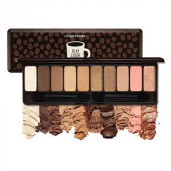 Палетка теней Etude House Play Color Eyes In The Cafe 10 colors 10 оттенков (0020)