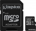 Kingston MicroSDHC 32GB Class 10 UHS-I + SD адаптер (SDC10G2/32GB)
