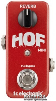Педаль эффектов TC Electronic Hall of Fame Mini Reverb (HOF mini Reverb)