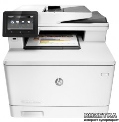 HP Color LaserJet Pro M477fnw with Wi-Fi (CF377A) + USB cable