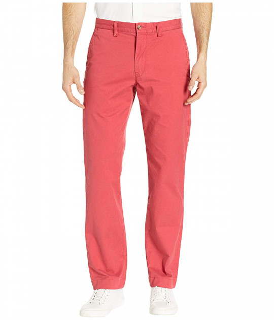 Брюки Polo Ralph Lauren Cotton Stretch Twill Bedford Flat Pants Red, 32 (10264578)