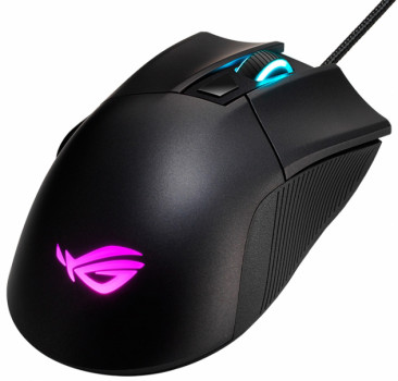 Миша Asus ROG Gladius II Core USB Black (90MP01D0-B0UA00)