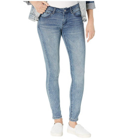 Джинси Bebe Rhinestone Logo Skinny Jeans in Axis Wash Unknown Color, 4XL (US 27) (10319693)