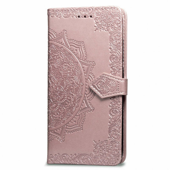 Чехол Mobile Case Book Cover Art Leather Pink for Xiaomi Redmi Go розовый