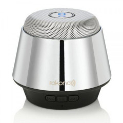 Портативная bluetooth MP3 колонка Rokono B10 Silver
