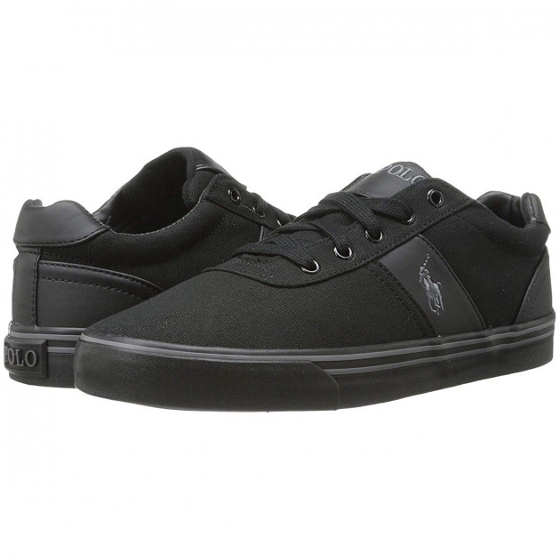 Кеды Polo Ralph Lauren Hanford Black/Cream/Black, 45 (305 мм) (10390722) - изображение 1