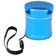 Bluetooth-колонка Peterhot PTH-307, speakerphone, Shaking. BLUE