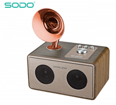 Беспроводная Bluetooth колонка SODO Z17 Gold Original Гарантия