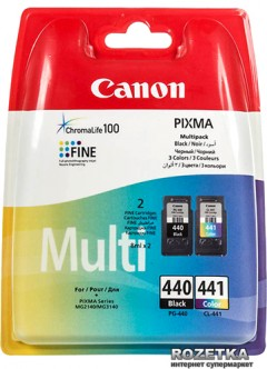 Набор картриджей Canon PG-440Bk/CL-441 Multi Pack Cyan/Magenta/Yellow/Black (5219B005)