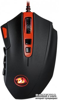 Мышь Redragon FireStorm USB Black/Red (70244)