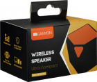 Акустична система Canyon Portable Bluetooth Speaker Black/Orange (CNE-CBTSP2BO) - зображення 3