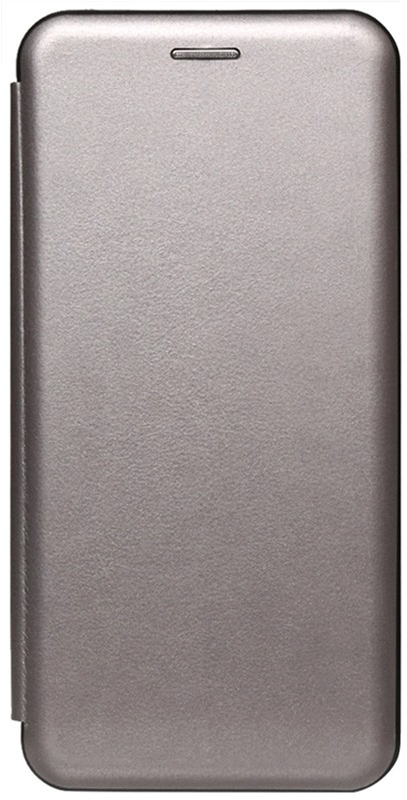 Чехол-книжка TOTO Book Rounded Leather Case для Apple iPhone Xr Gray