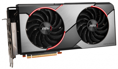 MSI PCI-Ex Radeon RX 5700 Gaming X 8GB GDDR6 (256bit) (1610/14000) (1 x HDMI, 3 x DisplayPort) (RX 5700 GAMING X)