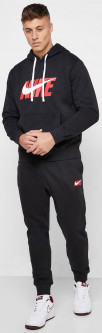 Спортивный костюм Nike M Nsw Ce Trk Suit Hd Flc Gx CI9591-010 XL (193146357265)