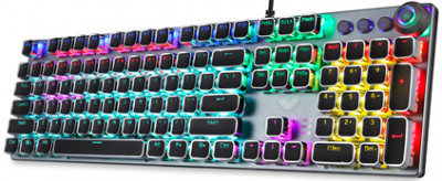 Клавіатура дротова Aula Fireshock V5 Mechanical Wired Keyboard EN/RU/UA
