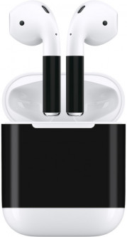 Наклейки AhaStyle для Apple AirPods Black (AHA-01130-BLK)