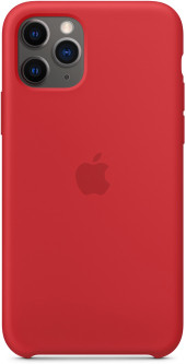 Панель Apple Silicone Case для Apple iPhone 11 Pro (PRODUCT) Red (MWYH2ZM/A)