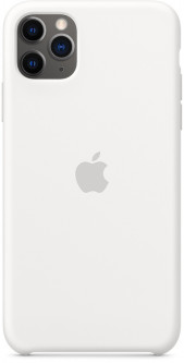 Панель Apple Silicone Case для Apple iPhone 11 Pro Max White (MWYX2ZM/A)