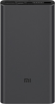 УМБ Xiaomi Mi Power Bank 3 10000 mAh USB-C PLM12ZM Black (VXN4253CN)