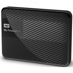 Жесткий диск Western Digital My Passport X 2TB WDBCRM0020BBK-EESN 2.5 USB 3.0 External Black (F00171603)